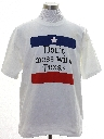 Mens Dont Mess with Texas Political T-shirt