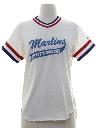 Womens Grunge Totally 80s Sports T-shirt