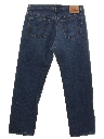 Mens Levis 501 Straight Leg Denim Jeans Pants