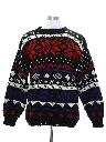 Mens Snowflake Sweater