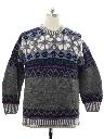 Mens Ecuadorian Heavy Wool Sweater