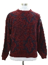 Mens Le Tigre Totally 80s Cosby Style Sweater