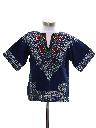 Unisex Girls or Boys Hippie Dashiki Style Shirt