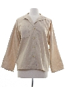 Womens Totally 80s Linen Shirt