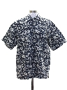 Mens Bugle Boy Graphic Print Sport Shirt