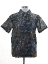 Mens Resort Wear Print Disco Shirt