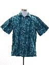 Mens Graphic Print Hawaiian Shirt
