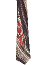 Mens Wide Hand Painted Swing Necktie