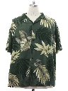 Mens Rayon Twill Hawaiian Shirt
