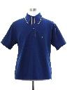 Mens Mod Knit Polo Style Golf Shirt