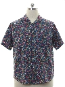 Mens Christian Dior Totally 80s Style Designer Sport Shirt
