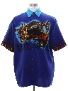 Mens Wicked 90s Club or Rave Dragon Shirt