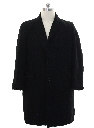 Mens Cashmere Mod Wool Car Coat Jacket