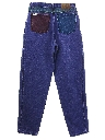 Womens Totally 80s Zena Denim Jeans Pants