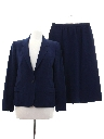 Womens Totally 80s Wool Gabardine Suit