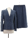 Womens Totally 80s Wool Suit