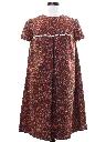 Womens A-Line Hippie Dress