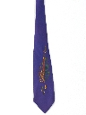 Mens Handpainted Wide Necktie