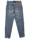 Womens Levis 591 Relaxed Tapered Leg Denim Jeans Pants