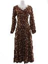Womens Hippie Prairie Dress