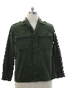 Mens Military Army Shirt Jacket