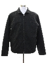 Mens Abercrombie Wool Blend Zip Jacket