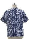 Mens Reverse Print Hawaiian Shirt