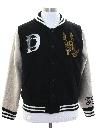 Unisex Wool Letterman Jacket