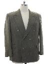 Mens Totally 80s Swing Style Blazer Sportcoat Jacket