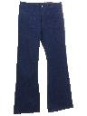 Mens Bellbottom Jeans Pants