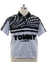 Mens Tommy Hilfinger Totally 80s Hiphop Knit Shirt
