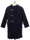 Mens Nautical Overcoat Jacket