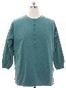 Mens Hippie Style Tunic Shirt