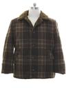 Mens Mod Wool Car Coat Jacket