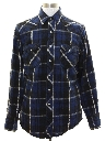 Mens Western Style Flannel Shirt