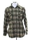 Mens Pendleton Wool Flannel Shirt