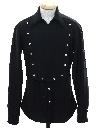Mens or Boys Calvary Style Knit Western Shirt