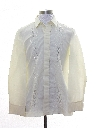 Mens Sheer Hippie Shirt