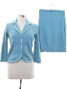 Womens Fab Fifties Wool Knit Suit