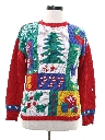 Unisex Authentic Vintage Ugly Christmas Sweater