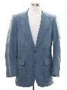 Mens Faux Suede Blazer Style Sport Coat Jacket