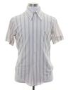 Mens Subtle Print Disco Shirt