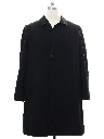 Mens Wool Gabardine Overcoat Jacket