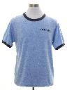 Mens Rayon Jersey Cornell College Theme T-Shirt