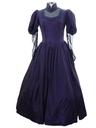 Womens Victorian Prairie Style Maxi Dress
