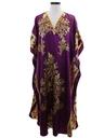 Womens Hippie Style Caftan Dress