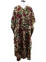Womens Hippie Style Caftan Maxi Dress