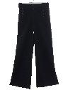 Mens Navy Issue Wool Bellbottom Pants