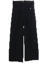 Mens 13 Button Wool Navy Issue Bellbottom Pants