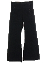 Mens Wool 13 Button Navy Issue Bellbottom Pants